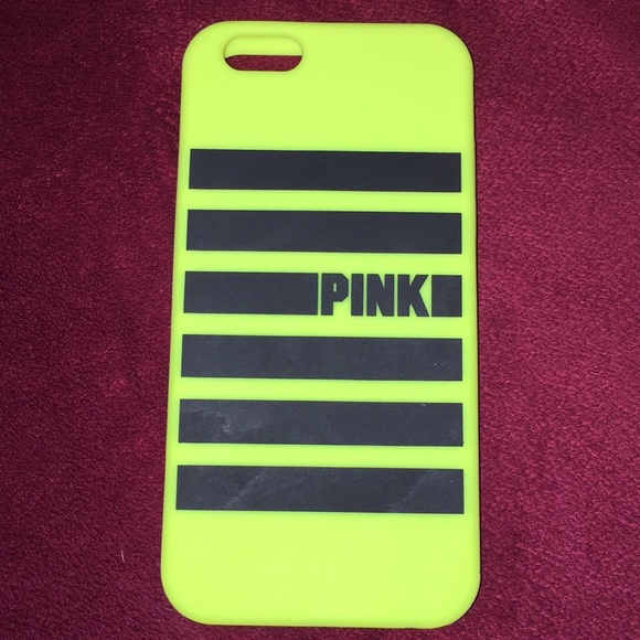 PINK Victoria's Secret Accessories - VS Pink iPhone 6/6s Silicon Cell Phone Case